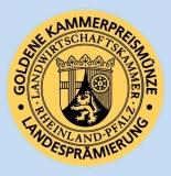 2015er Zeltinger Deutschherrenberg Rotschiefer Riesling Spätlese GOLDENE KAMMERPREISMÜNZE