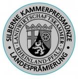 2015er Weißer Burgunder Qualitätswein feinherb Silberne Kammerpreismünze